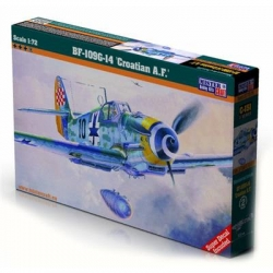 Model do sklejania Messerschmitt BF-109G Croatian-15694