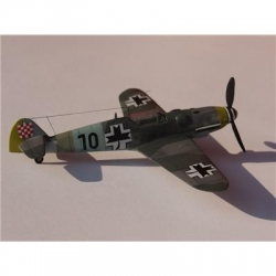 Model do sklejania Messerschmitt BF-109G Croatian-15698